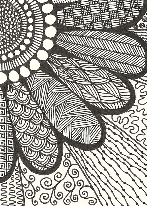 Zentangle ★ Art on Pinterest   Zentangle, Zentangles and ...